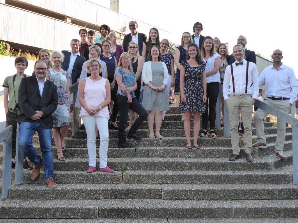 Abschlussfest in der Roseggerschule