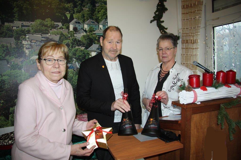 Süße Weihnachten für die Senioren